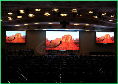 China High Uniformity Indoor Led Video Wall , Indoor Full Color Led Display IOS9001 supplier