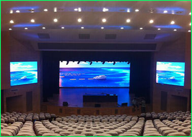 China Anti - Glare Rgb Led Display Hire , Led Video Curtain P4 Corrosion Resistance 512 * 512mm supplier