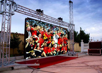 China HD Outdoor RGB Led Screen Full Color Wide View Angle ROHS 960mm * 960mm supplier