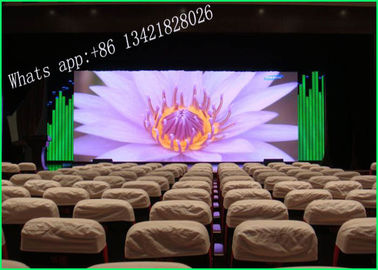China Light Weight Indoor LED Displays For Dinner Party With Aluminum Alloy  Black Chip 1 / 32 Scan supplier