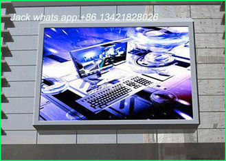 China Ultra Thin Full color p10 outdoor led display for advertising in main street , RoHS supplier