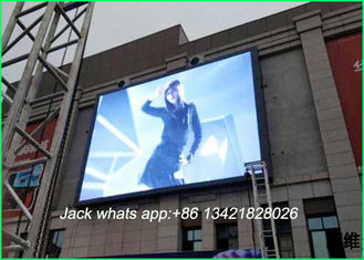China Waterproof Full Color P8 Outdoor LED Advertising Displays Brightness SMD 3535 3 In1 supplier