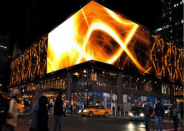 China Pixel Pitch 10mm Outdoor Led Displays With Full Color SMD3535 High Brightness supplier
