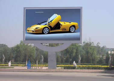 China Waterproof  8mm Outdoor Display Boards Large LED Display Screen For Business supplier