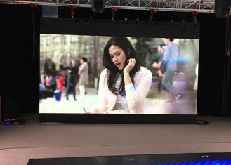 China Full Color P6 Cinema Led Video Display Indoor Usage , Good Effect Animation Show supplier