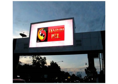 China P6 1R1G1B Outdoor Led Advertising Panel Full Color Real Pixels Environment Friendly supplier