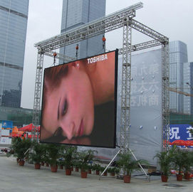 China High Brightness Outdoor Rental Led Screen Displays With 43264 Dots/㎡ Physical Density supplier
