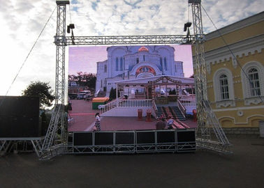 China Slim Musical Outdoor Rental Led Screen Hiring Used For Concert , High Brightness supplier