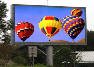 China Fixed Large Stadium P8 Led Screen , Outdoor Advertising LED Display Full Color supplier