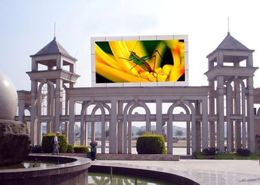 China Highest Effective LED Advertising Screen , Outdoor LED Video Display 8mm Pixel Pitch supplier