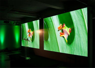 4mm 5mm Indoor LED Video Wall Screen , Activities Stage Background Screen
