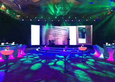 China HD Full Color Rental LED Displays For Indoor And Outdoor Stage Backdrop supplier