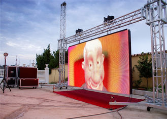 China Outdoor Waterproof LED Video Wall Display , 6mm Comercial LED Screen supplier