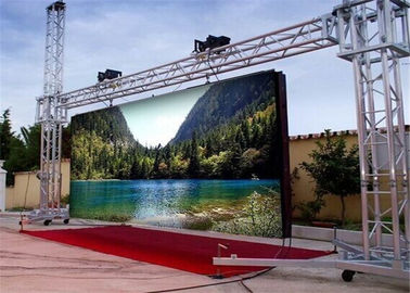 China 32*32 Super Slim SMD3535 Outdoor Led Display Screen With Pixel Pitch 6mm supplier