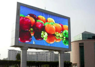 China Commercial Outdoor Full Color LED Display , big LED Screen Video Board P10 SMD3535 supplier