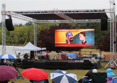 China P6 Outdoor LED Video Wall Display Seamless Installation Great Visual For Public supplier