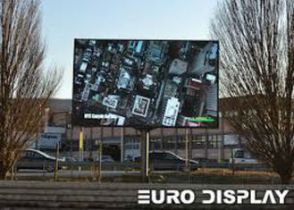China High Brightness Outdoor Full Color LED Display Wall Screen For Commercial Advertising supplier