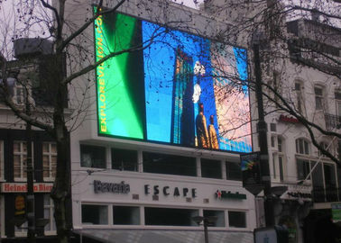 China P5 P6 Waterproof Large Outdoor Led Display Screens 1R1G1B With MBI5124 IC supplier