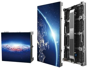 China Aluminum Cabinet High Definition Indoor Rental Led Screen , Seamless Led Video Wall Hire supplier