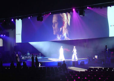 China P3.91 P4.81 Aluminum Super Slim Led Screen Hire With Video Processor For Concert supplier