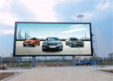 China P4 P5 P6 P8 P10 P16 Dustproof Outdoor Advertising Led Display Super Clear Vision supplier