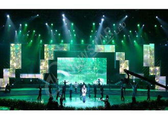 China SMD High Definition Rental Led Displays , Slim Led Video Screen Rental Best Visualization supplier