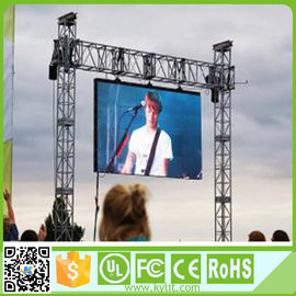 China Full Color Led Display Screen Hire , Outside Led Screen 1/13 Scan Driving Method supplier