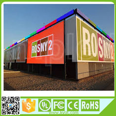 China Smd 3535 Outdoor Full Color Led Display 8mm Pixels 1920hz Advertising Billboard supplier