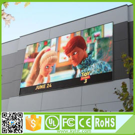 China Outdoor RGB LED Screen High Brightness Led Advertising Pitch 6mm Display supplier