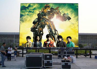 China High Contrast Outdoor Led Video Wall Football Field Front Maintain SMD2121 P3.91 RGB supplier
