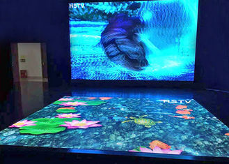 China Indoor Floor Rgb Led Display P4.81 Interactive Dancing Advertising Easily Maintenance supplier