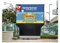 China High Resolution Outdoor LED Displays 10mm RGB Real Pixels For Landmarks / Transportation company