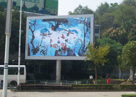 China RGB Outdoor LED Billboard Advertising In Main Street With Constant Current 1 / 4 Scan factory