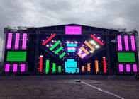 China Full Color big Outdoor Rental Led Screen Displays 1/13 Scan High Rate Refresh factory