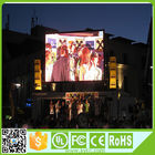 China RGB Large Outdoor Led Display Screens 1920Hz Refresh Rate 1/4 Scan 10 Mm Pixel Pitch factory