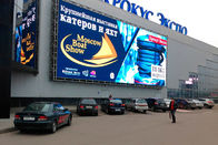 P10 P8 Outdoor Full Color Led Display Advertising Video SMD 320 * 160mm Size