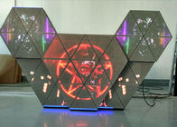 P5 full color led dj booth with multi screens adjustable brightness for bar club