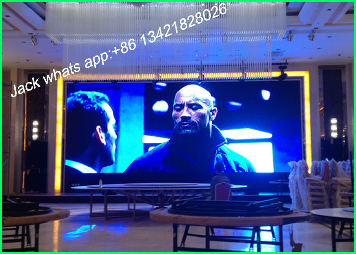 High Refresh P2.5 Small Stage Background Screen LED Video Display For Stage