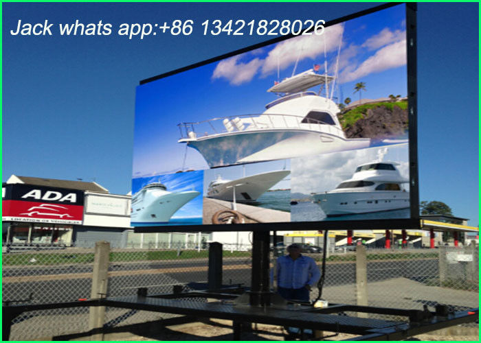 Weather Proof Outdoor Led Displays Huge Led Screen For