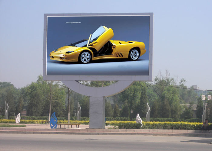 Waterproof  8mm Outdoor Display Boards Large LED Display Screen For Business