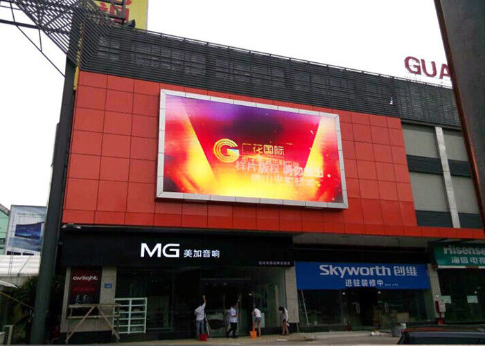 8Mm High Resolution Large Front Maintenance Led Display Full Color