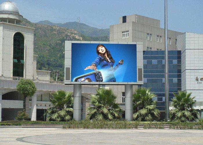Big RGB LED Screen Billboard P6 P10 P16 , Indoor LED Video