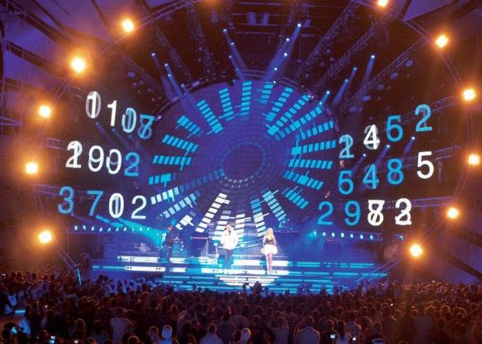 Stage Background Indoor Rental Led Screen / LED Video Panel High