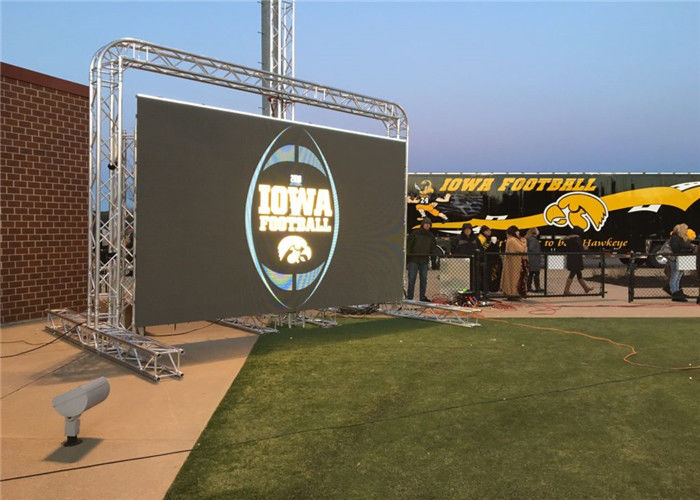 HD Rental Outdoor LED Advertising Board Screen P6 For Stage