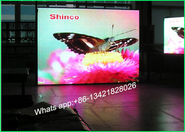 China P5 Rental Stage Background LED Screen , Indoor LED Video Display For Advertising distributor