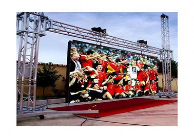 High Resolution Outdoor Rental Led Screen 10000 Pixels , Strong Rugged hd led display