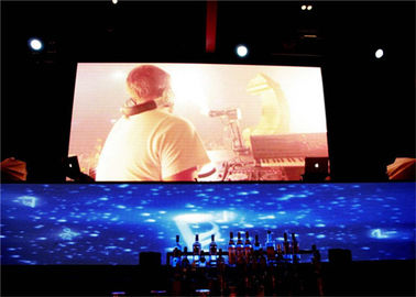 P3 RGB Led Screen Display Full Color / Stage Led Video Display With Small Pixel Pitch