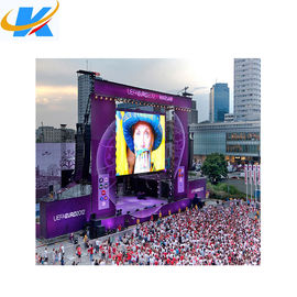 China SMD Full Color Outdoor Rental Led Screen 4mm Pixel Pitch Aluminium Profile Cabinet distributor