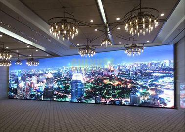 China 1R1G1B Indoor Full Color Led Display , SMD2121 Custom Led Signs Indoor P2.5mm distributor