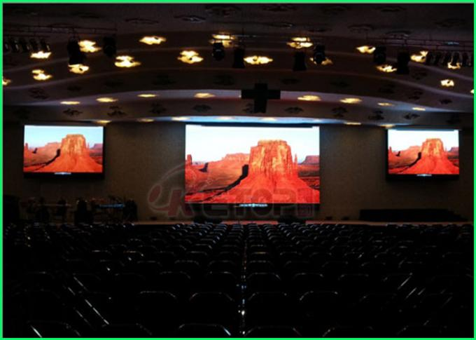 High Uniformity Indoor Led Video Wall , Indoor Full Color Led Display IOS9001